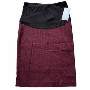NWT! Margaret M x Stitch Fix Jacquard Pencil Skirt